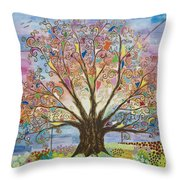 Tree Of Life #1 Throw Pillow