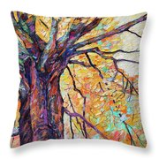 Tree Of Life And Wisdom   Throw Pillow