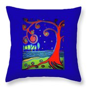 tree of life Manchester-by-the-sea Throw Pillow