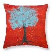 Nuclear Winter Throw Pillow