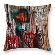 Tree Of Love 1 Throw Pillow