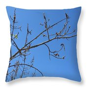 Tree Of New Life Throw Pillow