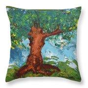 Tree Of Plenty Throw Pillow