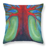 Tree Of Quiet Throw Pillow