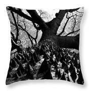 Tree Of Thorns B Throw Pillow