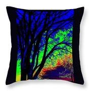 Tree One Throw Pillow