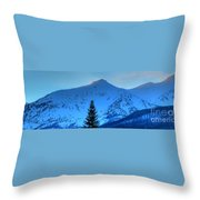 Tree Pano Throw Pillow