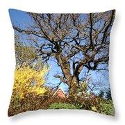 Tree Photo 993 Throw Pillow
