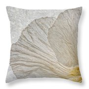 Tree Poppy Throw Pillow