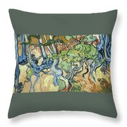 Tree-roots Throw Pillow