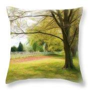 Tree Series 1324 Throw Pillow