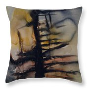 Tree Series Vi Throw Pillow