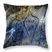 Tree Slab - 5025 Throw Pillow