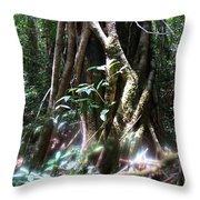 Tree Sprites Throw Pillow