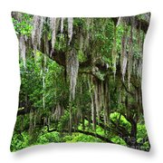 Tree Thistle Throw Pillow