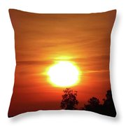 Tree Topper Throw Pillow