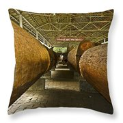 Tree Trunks  Throw Pillow