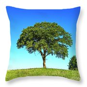 Tree Two One... Throw Pillow