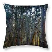Tree Wall Throw Pillow