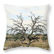 Tree009 Throw Pillow