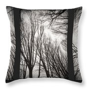 Treeology Throw Pillow