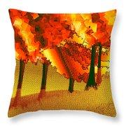 Treeport Throw Pillow