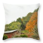 Trees 025 Throw Pillow