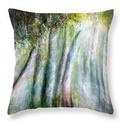 Trees 1 Throw Pillow
