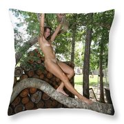 Trees 347 Throw Pillow