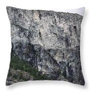 Trees And Flat Peak Throw Pillow