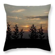 trees and West Throw Pillow
