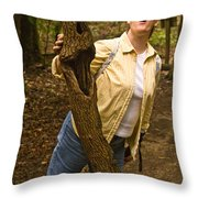 Trees Can Sing Too Throw Pillow