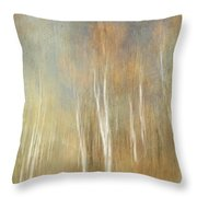 Trees Ethereal Grove Throw Pillow