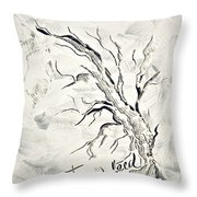 Trees Feed Throw Pillow
