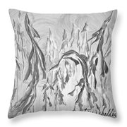 Trees Shelter Throw Pillow