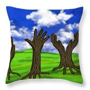 Trees #0078 Throw Pillow