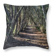 Trees Under Cover 3 Throw Pillow
