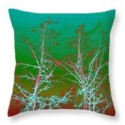 Treetops 2 Throw Pillow