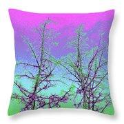 Treetops 5 Throw Pillow