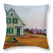 Trehaus Acadia Maine Throw Pillow