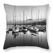 Tremblant Marina Throw Pillow