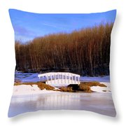Trenton Park - Landscape Throw Pillow