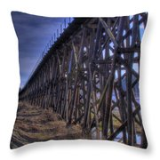 Tressel From The East Throw Pillow