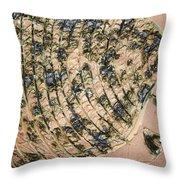 Tresses - Tile Throw Pillow