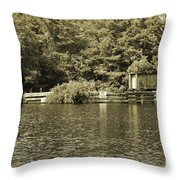 Trestle End Throw Pillow
