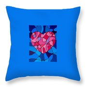 Treu Love Throw Pillow