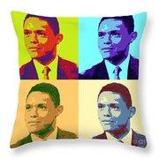 Trevor Noah Pop Art Throw Pillow