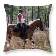 Trey4 Throw Pillow