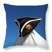 Tri-cornered Hat 6583 Throw Pillow