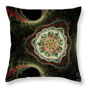 Triad Throw Pillow
